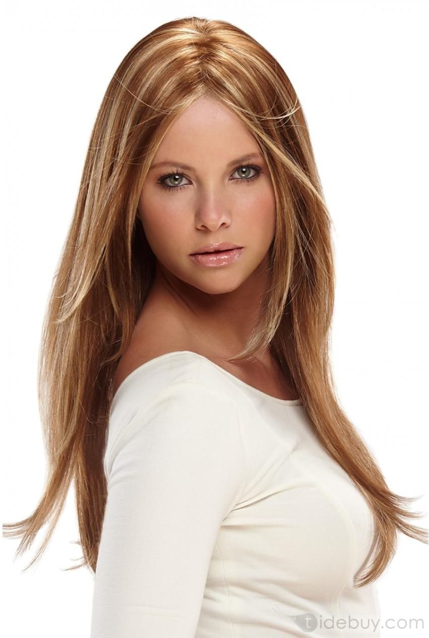 Super Charming Straight about 20 Inches Lace Wig (With