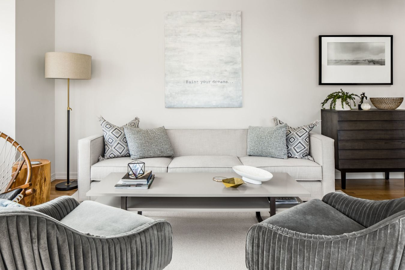 A Weekend Retreat in the Big Apple   Neutral, Living rooms and Room