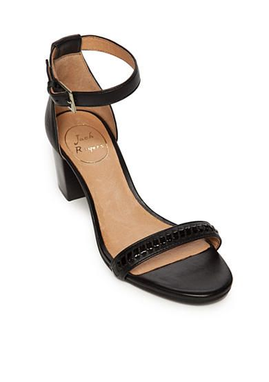 Pay With Visa For Sale Jack Rogers Lillian Ankle Strap Sandal(Women's) -Pewter Leather Buy Online Fake Cheap Price X5WrUZswah