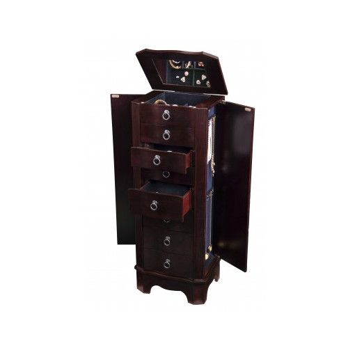 Found it at Wayfair 7 Drawer Jewelry Armoire with Flip Top Mirror