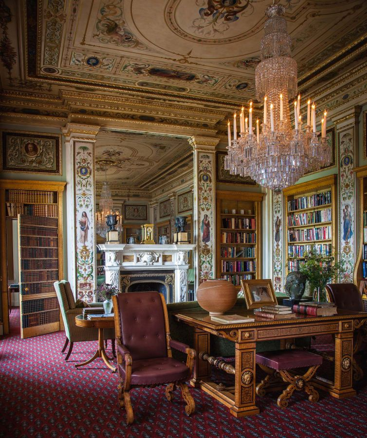 Inside History S Most Opulent English Houses Chatsworth House
