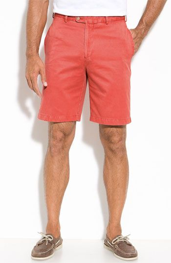 b8f9cf5bcc2f Peter Millar Washed Twill Shorts available at  Nordstrom