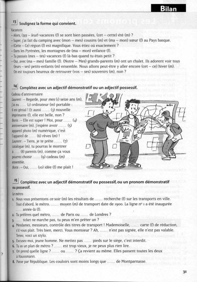A2 ~ les exercices de grammaire, avec corrigés   French ...