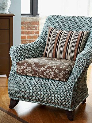 Furniture Project: Revive a Wicker Chair: