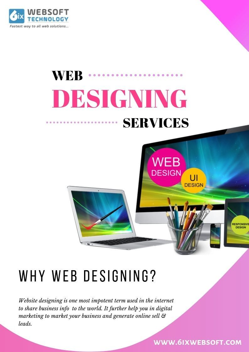 6ixwebsoft Technology Is A Full Service Web Designing Company In India That Provides Full Responsive Ecom Web Design Website Design Ecommerce Website Design
