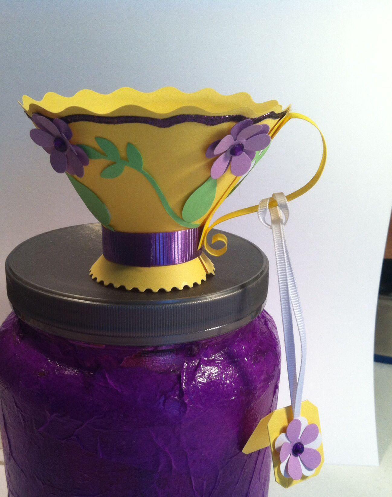 Paper roll cups DIY! / Φτιάχνουμε φλυτζανάκια απο ρολλό