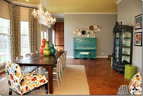 Addicted 2 Decorating Blog - DINING ROOM DECORATING IDEAS - Colorful ...