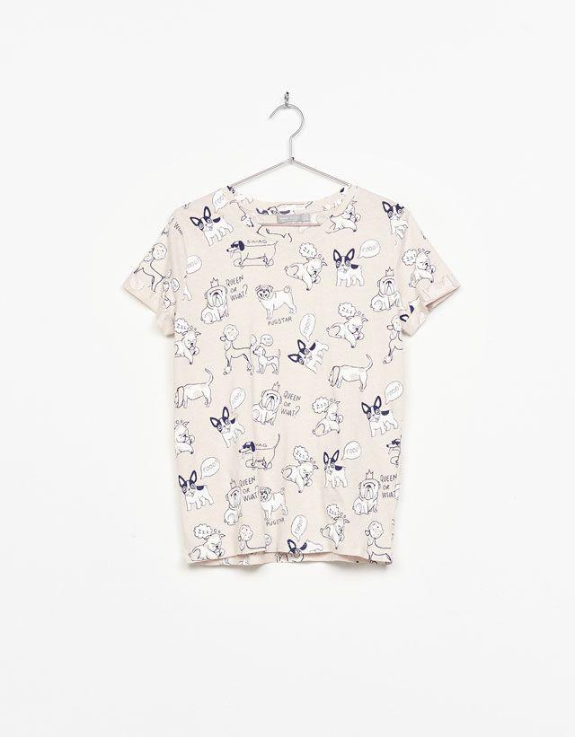 fdc70d198 Camisetas de mujer - Primavera 2017 | Bershka España | camisetas ...