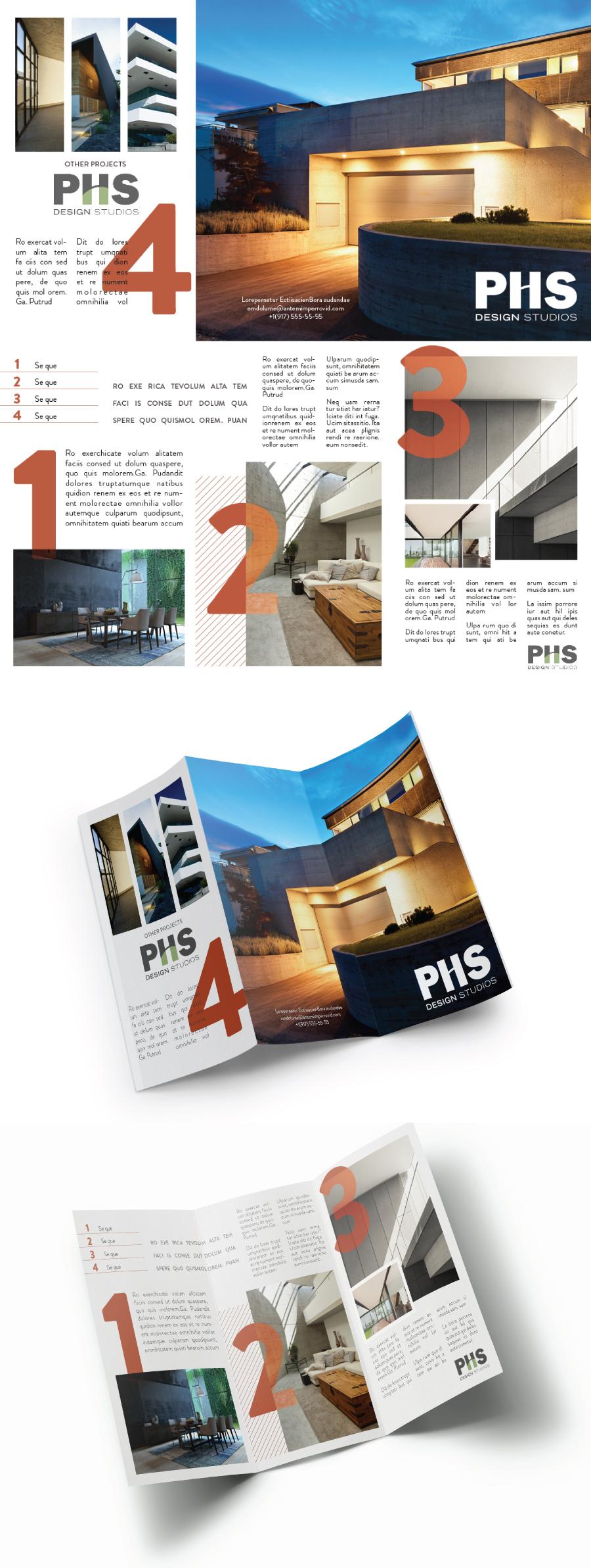 Brochure For Architecture Firm 画册 Pinterest Brochures
