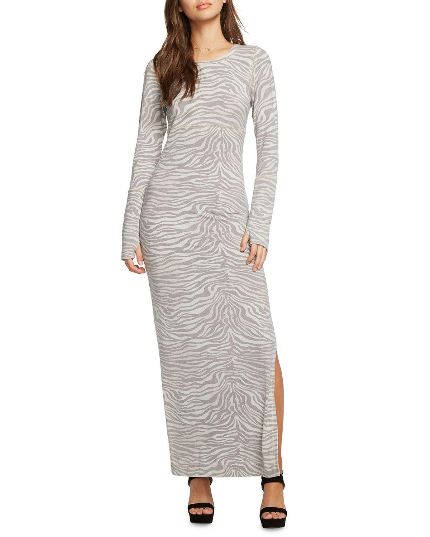 Chaser Thumbhole Cuff Vent Back Maxi Dress Chaser Cloth Maxi Dress Viscose Maxi Dress Chaser Clothing [ 1500 x 1200 Pixel ]