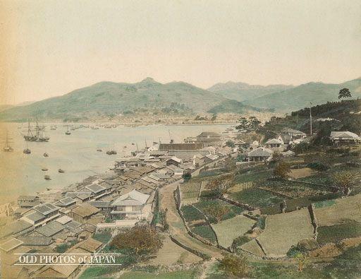 1870年代の長崎 南山手 写真のアイデア 古写真