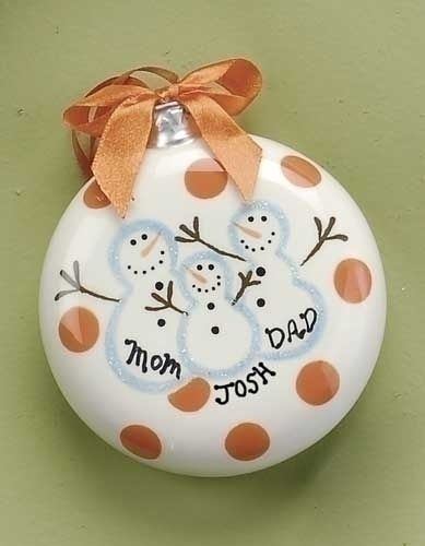 Family ornament-gonna have to make thse for christmas!