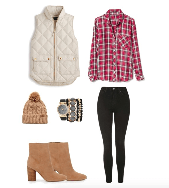 4 Low-Key Christmas Outfit Ideas #casualchristmasoutfitsforwomen
