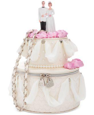 cutest wedding day purse blue by betsey johnson whole cake shoulder bag future wedding ideas. Black Bedroom Furniture Sets. Home Design Ideas