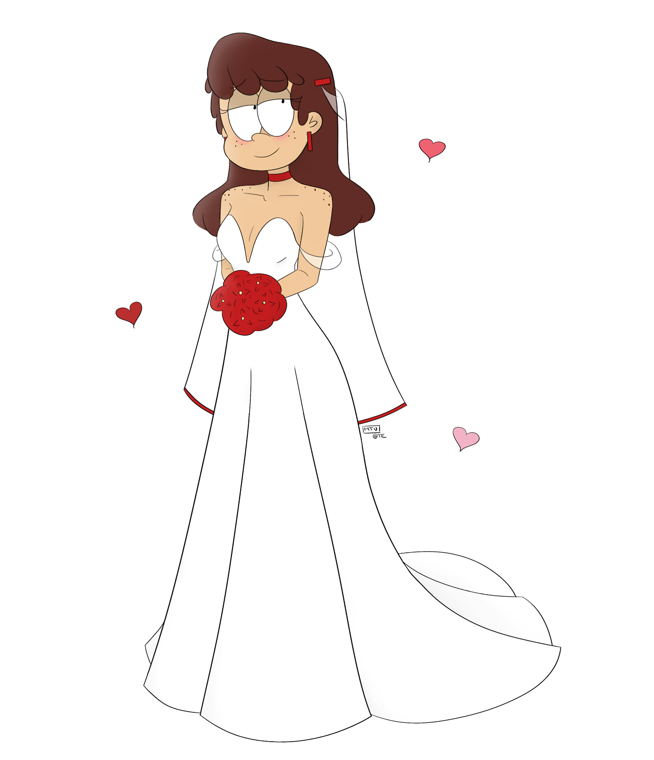 Lynns Wedding Dress She Got Married To Francisco Get Loud