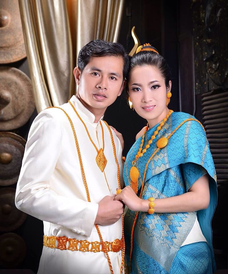 Tiffany Blue Lao Wedding Dress Traditional Laos Dresses Laos