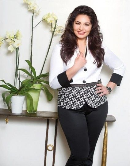 Giacca bianca e pantalone nero di Cannella - Look da cerimonia black    white per donne eb5a1479140