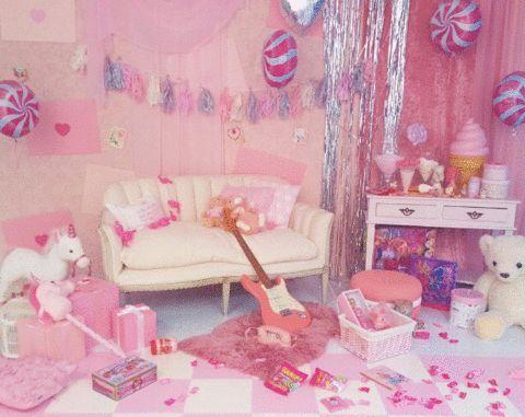 ゆめかわいい部屋の作り方とインテリア画像11例!コツやおすすめ雑貨は? Luv Interior パステル
