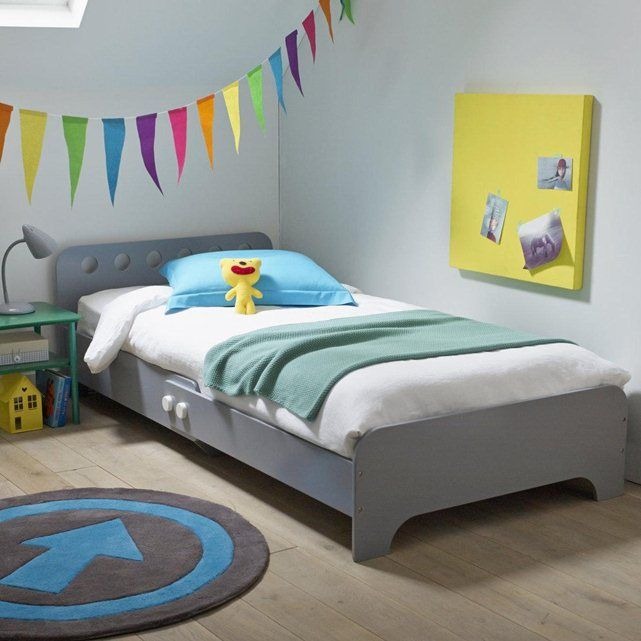 lit enfant volutif hubot extensible de 140 200 cm dans la longueur le lit volutif hubot. Black Bedroom Furniture Sets. Home Design Ideas