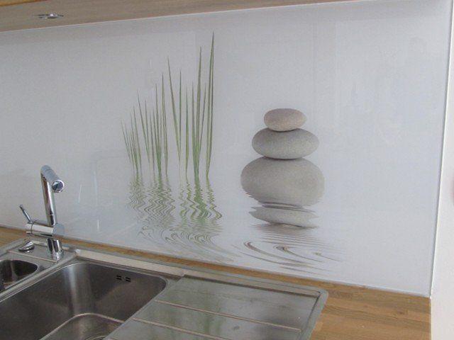 Achterwand Voor Keuken : Achterwand keuken edelglas Скинали Кухонный фартук decor