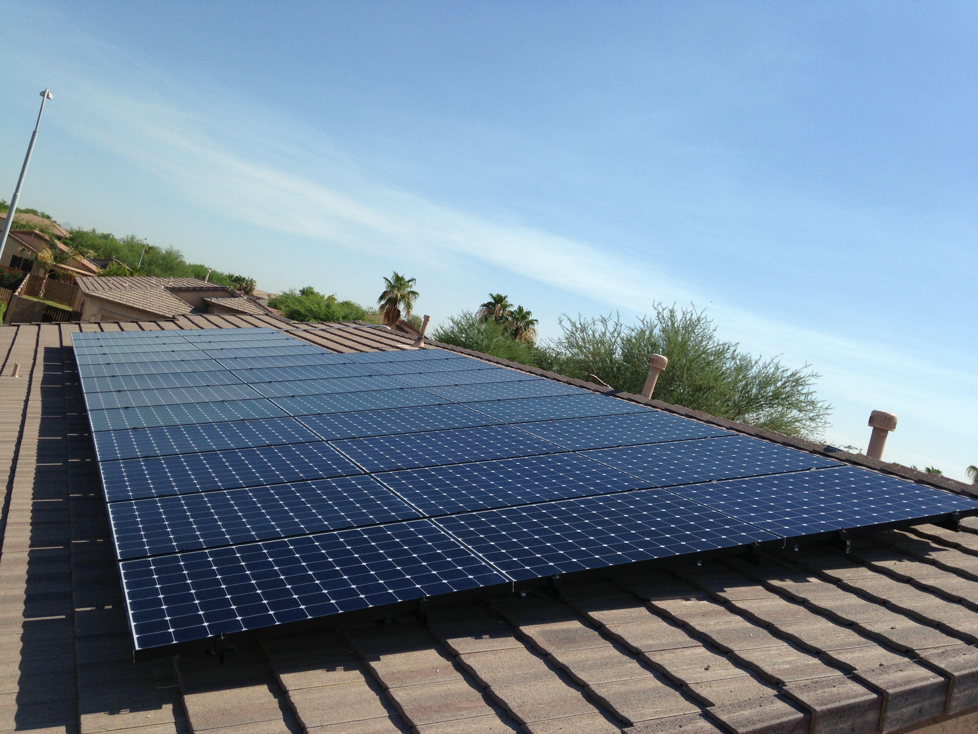 10 464kw Sunpower System West Facing And Will Produce 17 500 Kilowatt Hours Per Year Solar Solar Savings Solar Panels