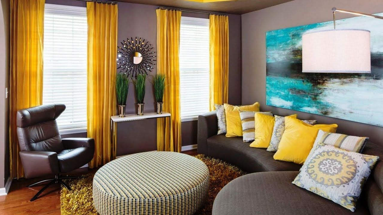 lovely gray and yellow interior design ideas  yellow