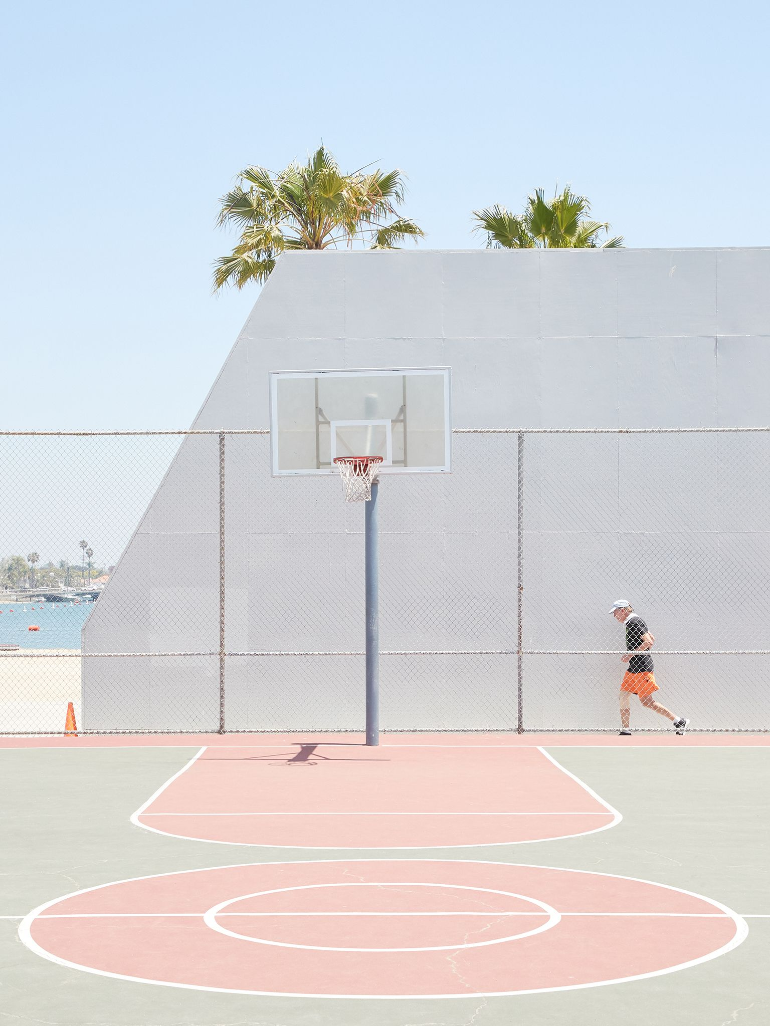 Los Angeles Court In 2020 Urban Landscape Basketball Aesthetic Pictures