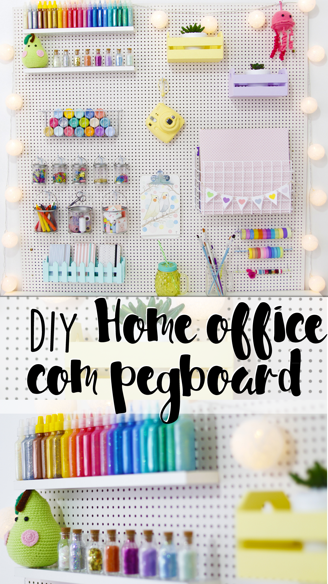 Photo of Today I show you how I decorated my home office or craft room (the famous room …