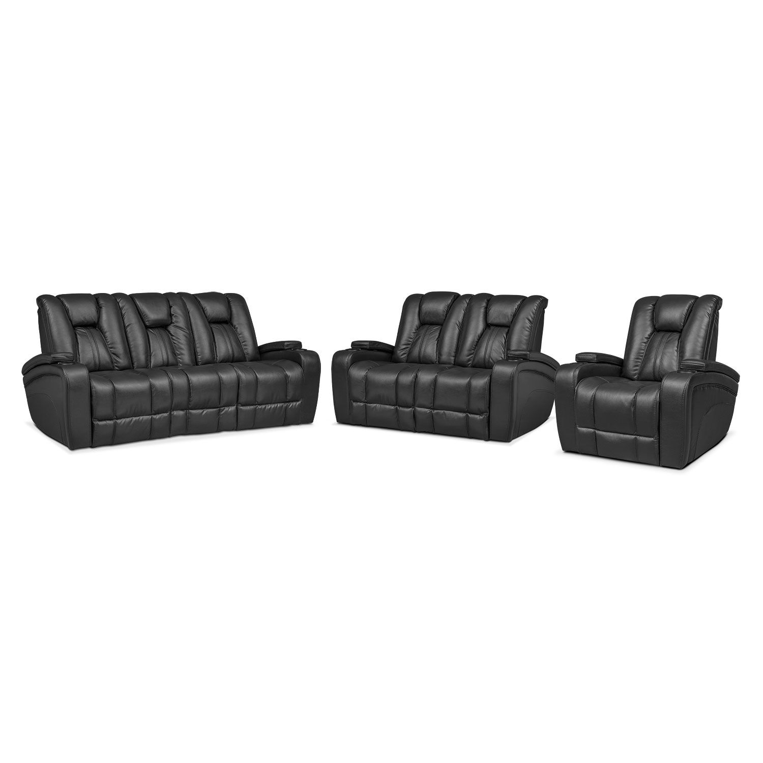home loveseat furniture w black charging seat love furnishings with contemporary products rocking and reclining drink console port
