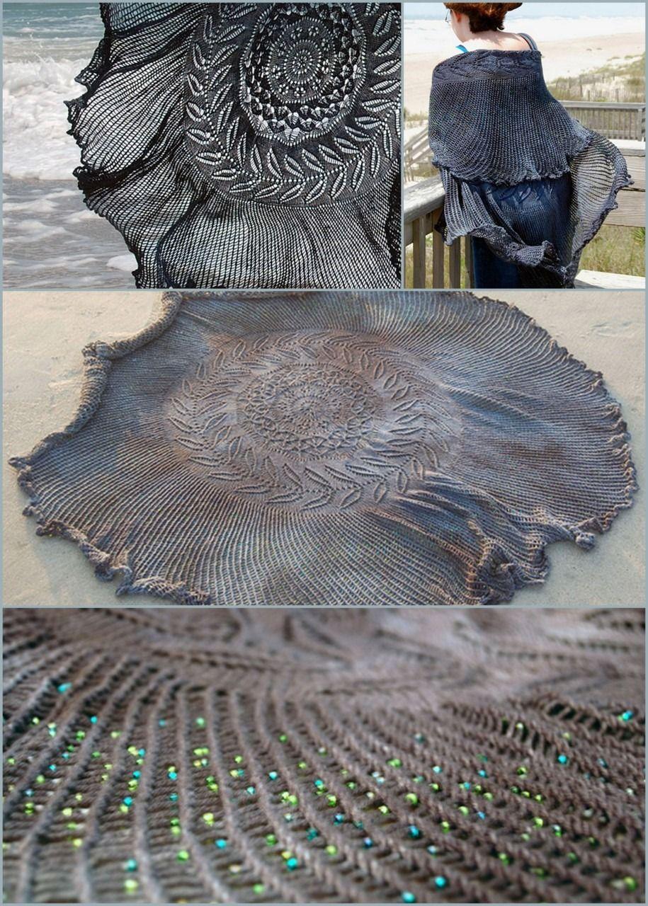 DIY Free Pattern Shipwreck Shawl. | DIY Knitting 3 ...