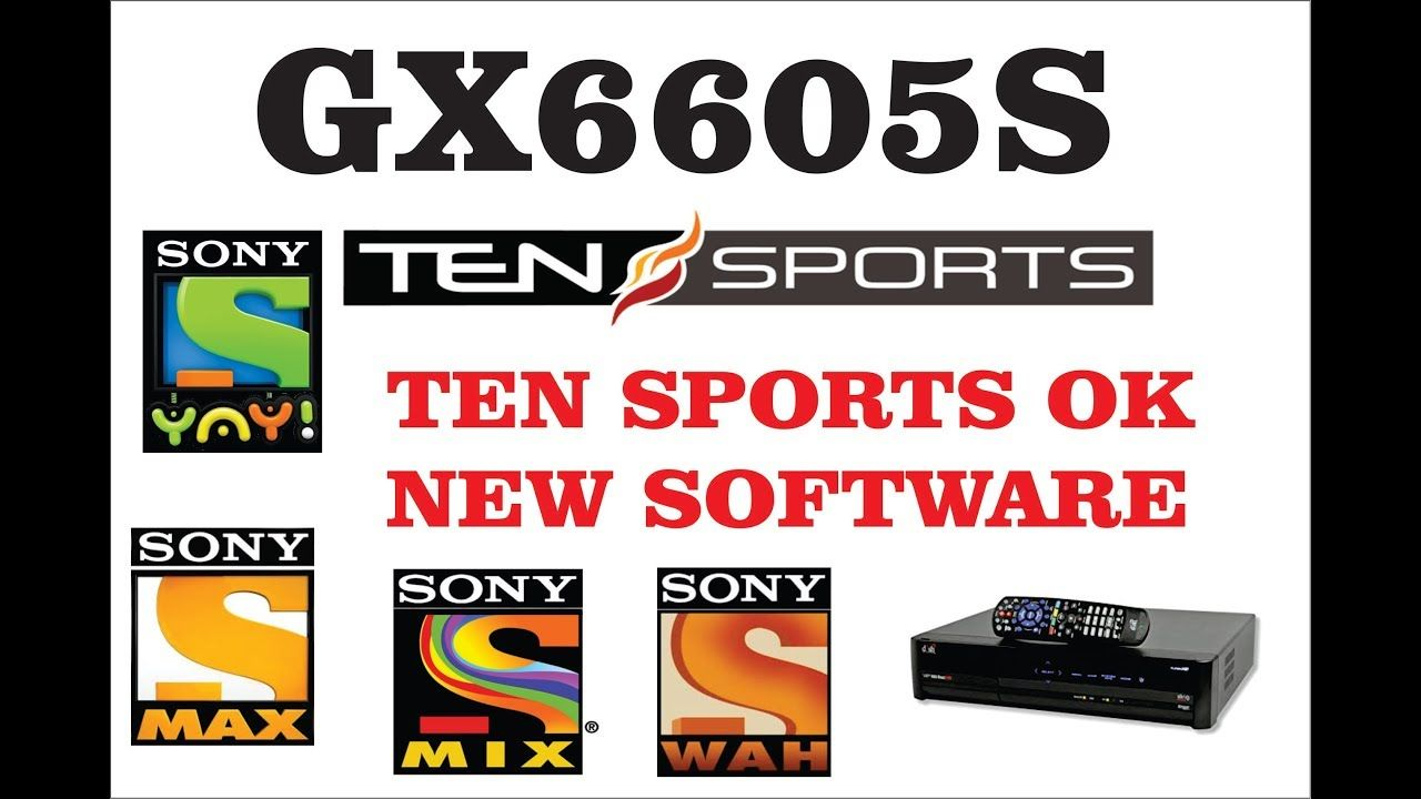 GX6605S ALL TYPE HD RECEIVER TEN SPORTS OK NEW SOFTWARE NEW UPDATE