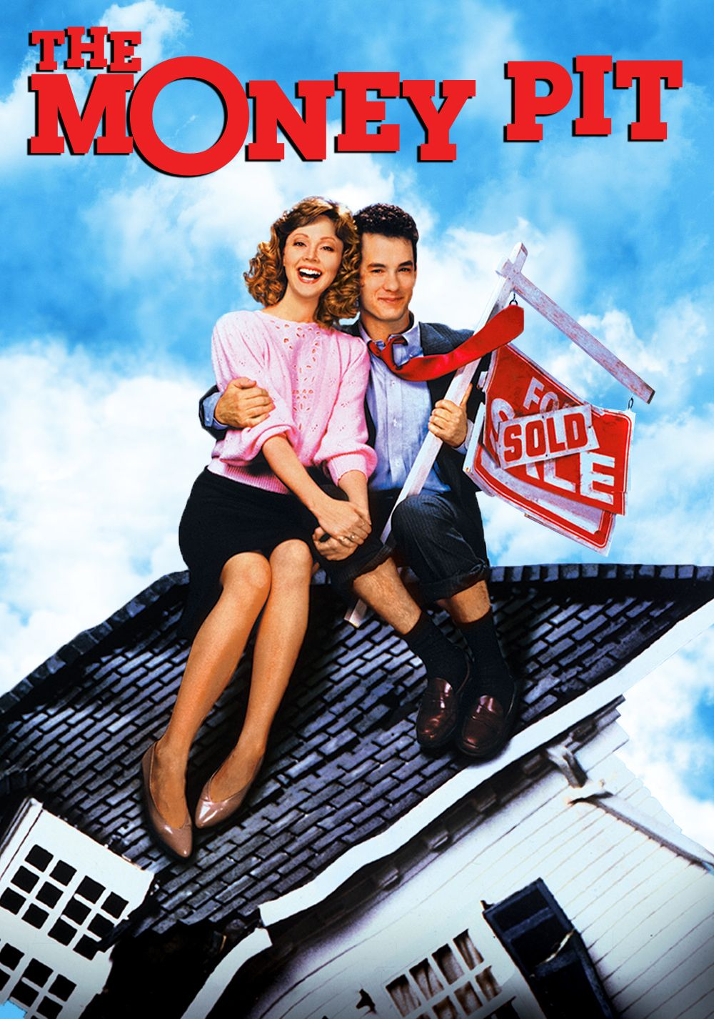 THE MONEY PIT comedy movie review, starring Tom Hanks and Shelley Long!