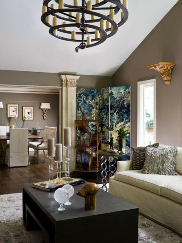 wohnzimmer holzmöbel:rustikale holzmöbel wohnzimmer : Holzbalken Wohnzimmer Modern
