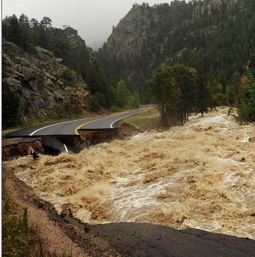 Denver News Flooding: 500 Year Flood In Colorado.