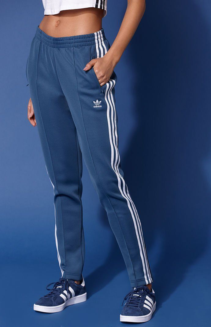 Adicolor Blue SST Track Pants | Track pants outfit, Adidas