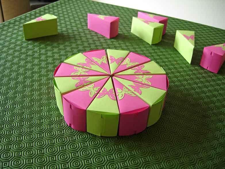 tuto origami anniversaire