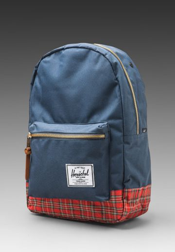 Herschel Supply Co. Tartan Collection Settlement in Navy