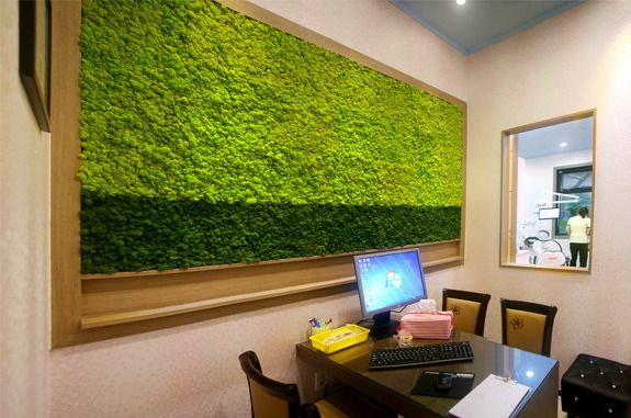 The color of Scandia Moss Medium green specially freshen up the