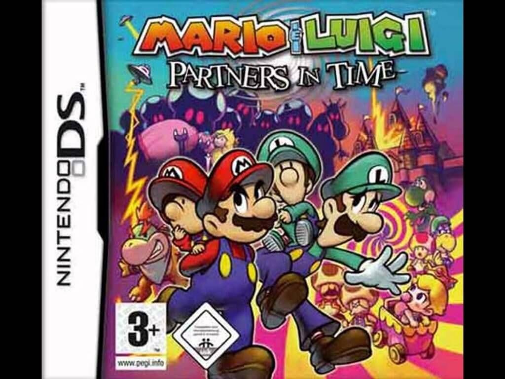 Mario Y Luigi Compañeros En El Tiempo Español Nds Eur Game Pc Rip Juegos De Xbox One Juegos Nintendo Nintendo