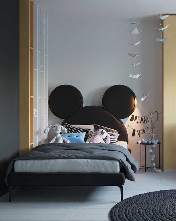 D Interiors Mała Sypialnia: 25 Most Adorable Headboard Ideas That Kids Will Love