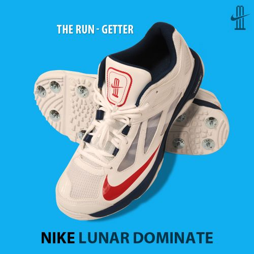 The Dynamic Lightweight Nike Lunar Dominate Cricket Shoe Gives