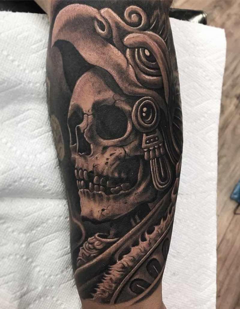 50 Of The Best Aztec Tattoos Aztec Tattoo Designs Aztec Tattoo