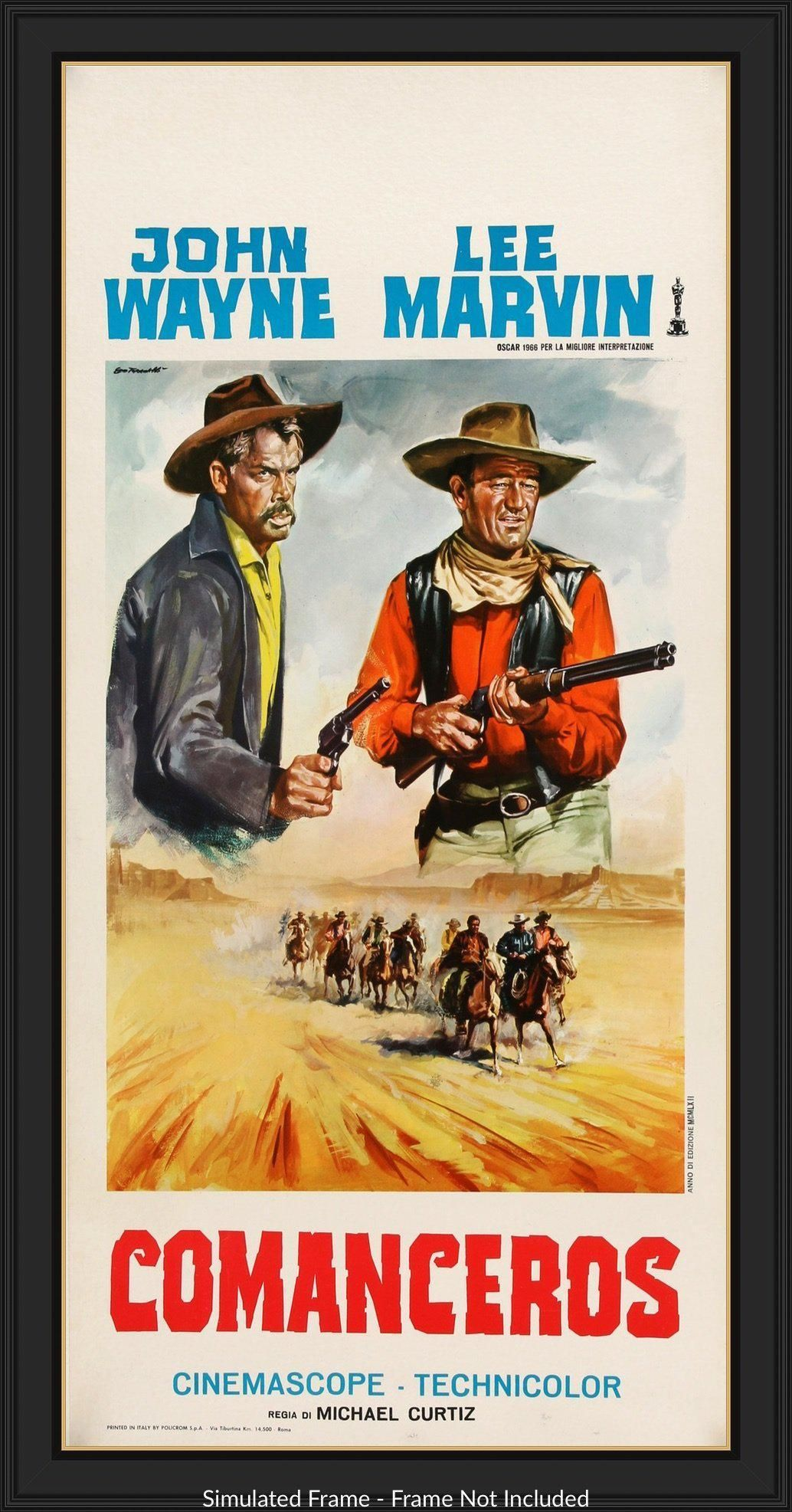 f8cec6e4 Comancheros (1961) | Movie posters | Movie posters, Film posters ...