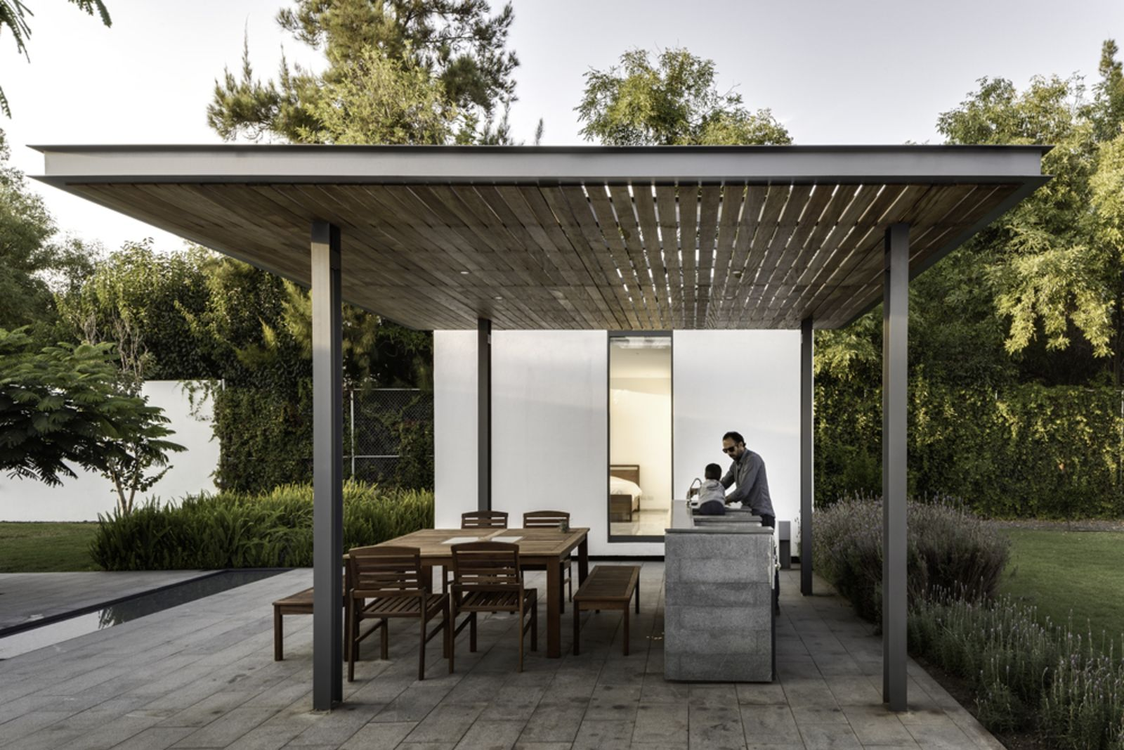 A Minimalist Mexican Retreat That Uses An Array Of
