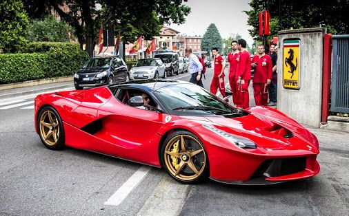 Ferrari LaFerrari I Would Put Different Rims And In A Color