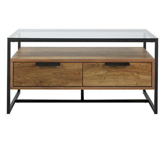 Buy Argos Home Nomad Coffee Table - Oak Effect | Coffee ...