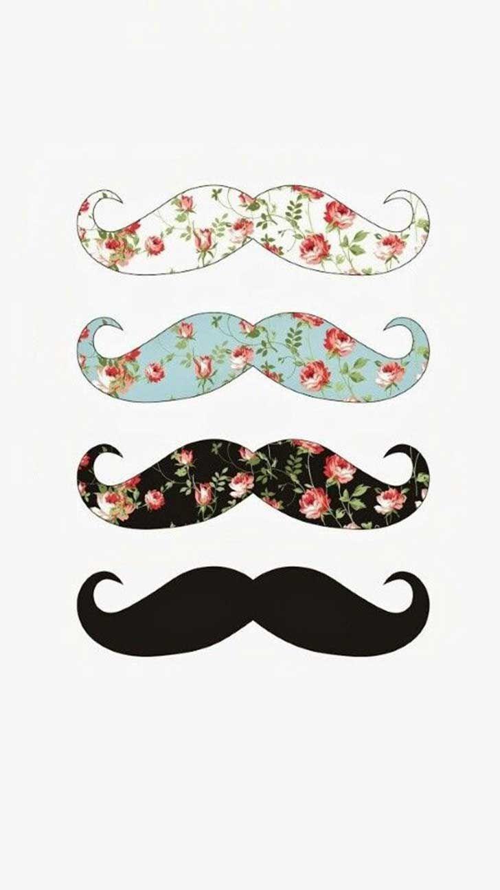 C39e018172b59902a0466fdbef25de93 Mustache Wallpaper Hipster Cool Phone Backgrounds