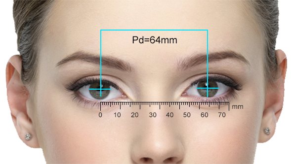 Measure Your Pd Pd Stands For Pupillary Distance Which Is The Distance Between Your Pupils In Millimeters Your Pd Is Very Important For Eyes Lenses 10 Things