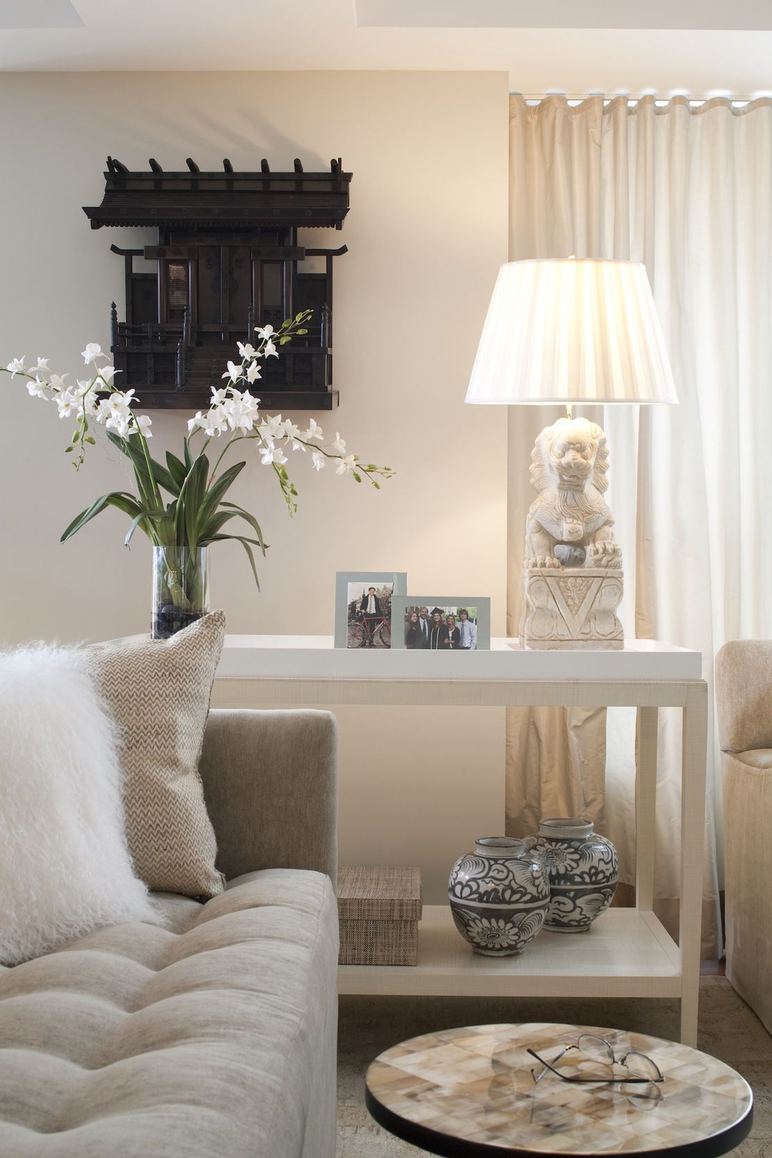 Living Room Detail American Contemporary By Gauthierstacy Inc