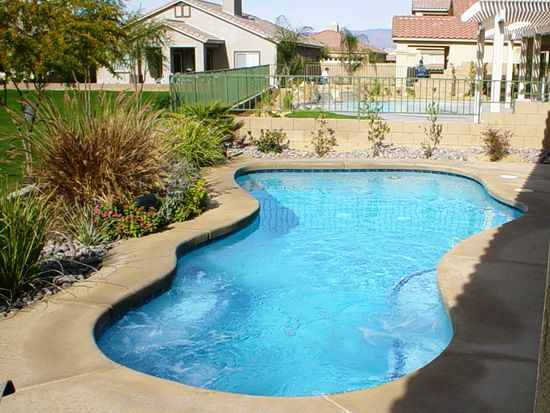 design 1_004. small backyard pool woohome 2. southwest style home ...